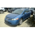 Used 2008 Honda Civic EX Parts Car - Blue with gray interior, 4 cylinder engine, Automatic transmission