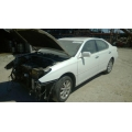 Used 2004 Lexus ES330 Parts Car - White with tan leather  interior, 6 cylinder engine, Automatic transmission