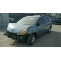 Used 2005 Toyota Sienna Parts Car - Blue with gray interior, 6 cylinder engine, Automatic transmission