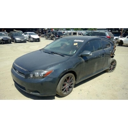 Used 2009 Scion TC Parts Car - Gray with black interior, 4 cylinder engine, automatic transmission