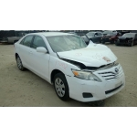 Used 2011 Toyota Camry Parts Car - White with tan interior, 4 cylinder engine, Automatic transmission