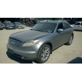 Used 2004 Infiniti FX35 Parts Car - Silver with black interior, 6 cyl engine, Automatic transmission