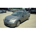 Used 2005 Honda Civic DX Parts Car - Gray with gray interior, 4 cylinder engine, Automatic transmission