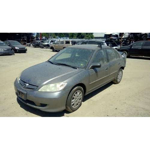 Used 2005 Honda Civic DX Parts Car   Gray With Gray Interior, 4 Cylinder  Engine, Automatic Transmission