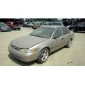 Used 1998 Toyota Corolla Parts Car - Gold with tan interior, 4 cylinder engine, Automatic transmission