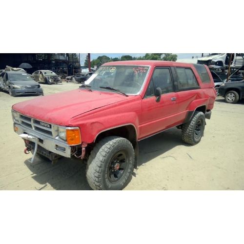 Used 1987 Toyota 4runner Parts Car Red With Gray Interior 4 Cyl