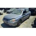 Used 2005 Kia Rio Parts Car - Blue with gray interior, 4 cylinder engine, automatic transmission