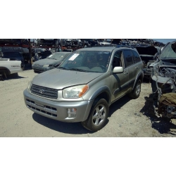 Used 2001 Toyota RAV4 Parts Car - Gold with brown interior, 4 cylinder engine, Automatic transmission