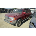 Used 1996 Toyota 4Runner Parts Car - Burgundy with tan interior, 6 cyl engine, Automatic transmission