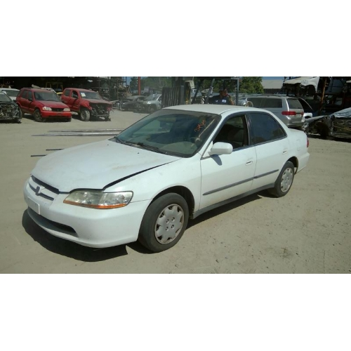 Used 1998 Honda Accord Parts Car White And Tan Interior 4 Cylinder Engine Automatic Transmission
