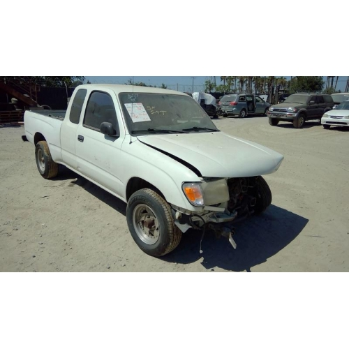 Used 1998 toyota tacoma parts car white with tan - 1998 toyota camry interior parts ...