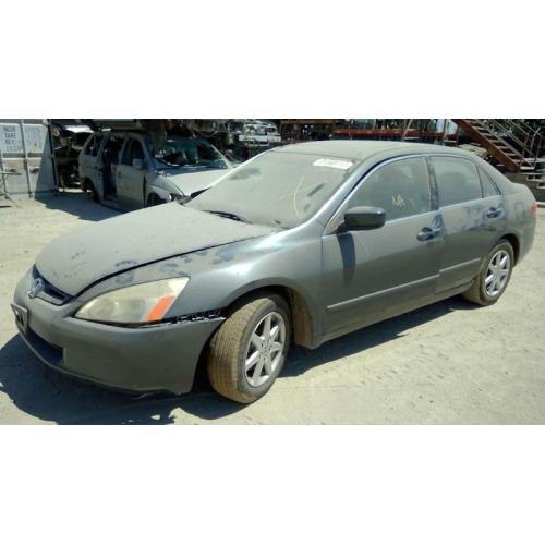 Used 2004 honda accord ex parts car gray with black - 2004 honda accord interior parts ...