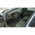 Used 2006 Nissan Altima Parts Car - White with brown interior, 4 cyl engine, Automatic transmission