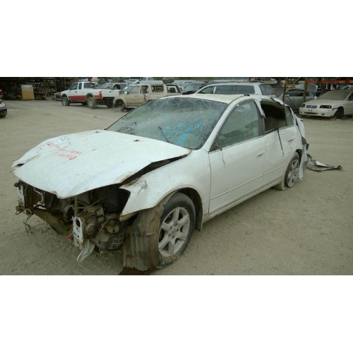 Used 2006 Nissan Altima Parts Car   White With Brown Interior, 4 Cyl  Engine, Automatic Transmission