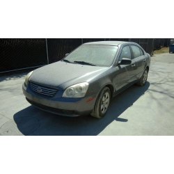 Used 2007 Kia Optima Parts Car - Gray with gray interior, 4 cylinder engine, automatic transmission