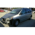 Used 2005 Toyota Sienna Parts Car - Silver with gray interior, 6 cylinder engine, Automatic transmission