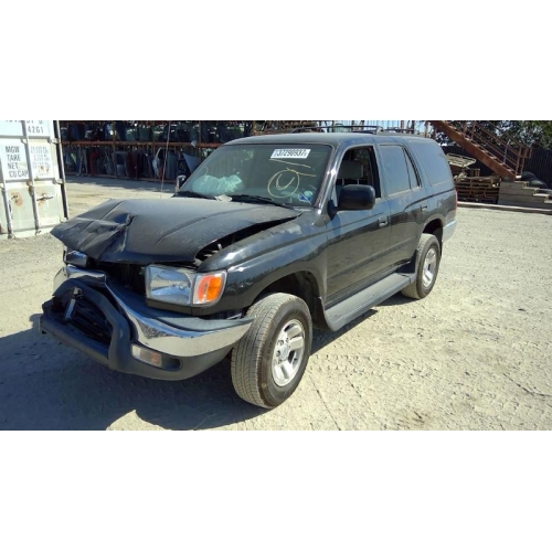 Used 1999 Toyota 4Runner Parts Car   Black With Grey Interior, 4 Cyl  Engine, Automatic Transmission