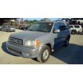 Used 2001 Toyota Sequoia Parts Car - Silver with grey interior, 4.7L 8 cylinder engine, Automatic transmission