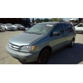 Used 2000 Toyota Sienna Parts Car - Green with gray interior, 6 cylinder engine, Automatic transmission**