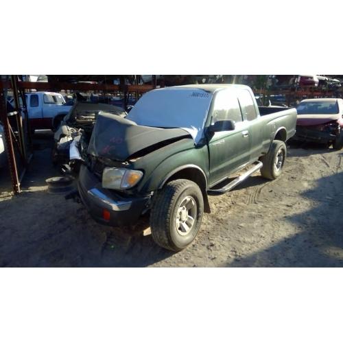 Toyota Tacoma Parts >> Used 2000 Toyota Tacoma Parts Car Green With Gray Interior