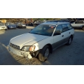 Used 2000 Subaru Legacy Parts Car - White with gray interior, 4 cylinder engine, automatic transmission