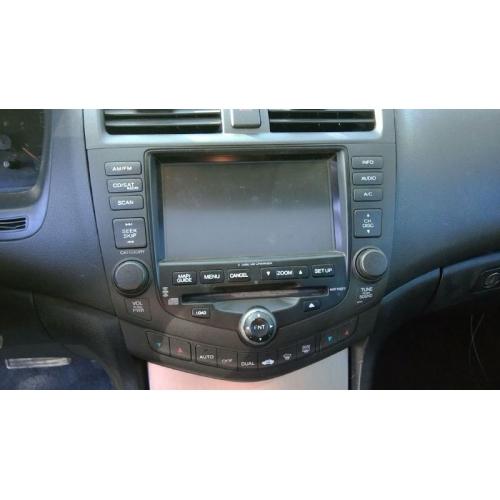 Used 2004 honda accord ex parts car silver with black - 2004 honda accord interior parts ...