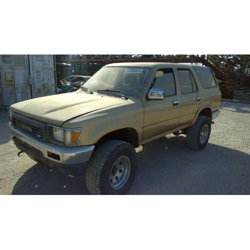 Used Toyota 4 Runner: Used 1990 Toyota 4Runner Parts Car