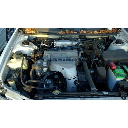 2001 Toyota Camry Parts Car White With Gray Interior 4 Cylinder