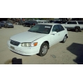 Used 2001 Toyota Camry Parts Car - White with gray interior, 4 cylinder engine, Automatic transmission