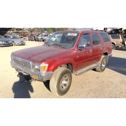 Used 1990 Toyota 4Runner Parts Car - Burgandy with gray interior, 6 cyl engine, Automatic transmission