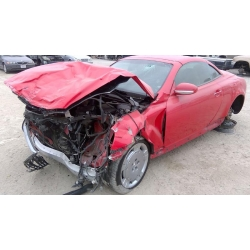 Used 2002 Lexus SC430 Parts Car - Red with brown interior, 8 cylinder engine, Automatic transmission