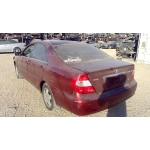 Used 2002 Toyota Camry Parts Car - Burgundy with grey interior, 6 cylinder engine, automatic transmission