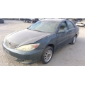 Used 2003 Toyota Camry Parts Car - Green with grey interior, 4 cylinder engine, automatic transmission