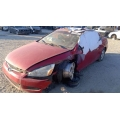 Used 2003 Honda Accord Parts Car - Red with tan interior, 6 cylinder, automatic transmission