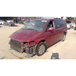 Used 2002 Honda Odyssey Parts Car - Burgundy with gray interior, 6 cylinder engine, Automatic transmission
