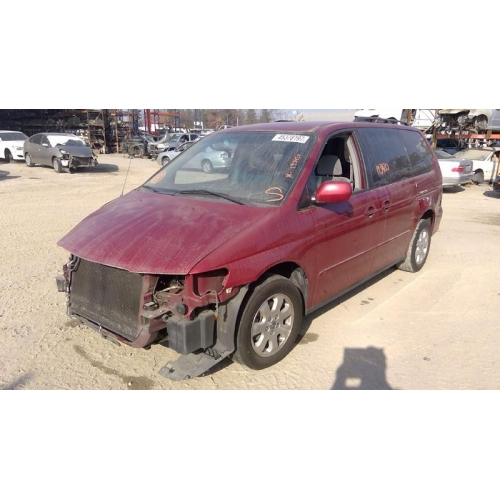 Used 2002 Honda Odyssey Parts Car   Burgundy With Gray Interior, 6 Cylinder  Engine, Automatic Transmission