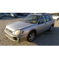 Used 2003 Subaru Impreza Outback Parts Car - Silver with gray interior, 4 cylinder engine, automatic transmission