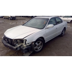 Used 2002 Acura TL Parts Car - White with tan interior, 6 cylinder, automatic transmission