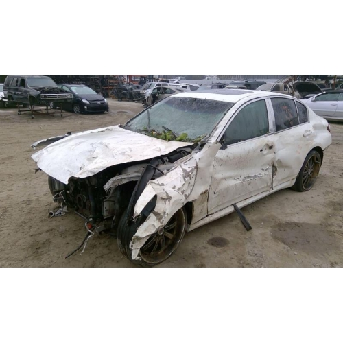 Used 2007 Infiniti G35 Parts Car White With Gray Interior 6 Cyl