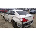 Used 2007 Infiniti G35 Parts Car - White with gray interior, 6 cyl engine, Automatic transmission