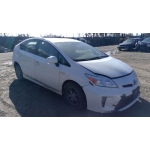 Used 2013 Toyota Prius Parts Car - White with grey interior, 4 cylinder engine, Automatic transmission