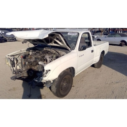 Used 1997 Toyota Tacoma Parts Car - White with grey interior, 4 cyl engine, automatic transmission