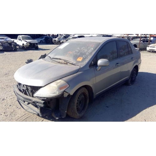 Used 2009 Nissan Versa Parts Car Grey With Black Interior 4 Cyl Engine Automatic Transmission