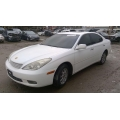 Used 2003 Lexus ES300 Parts Car - white with tan interior, 6 cylinder engine, Automatic transmission