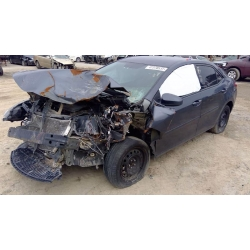 Used 2015 Toyota Corolla Parts Car - Grey with grey interior, 4 cylinder engine, Automatic transmission