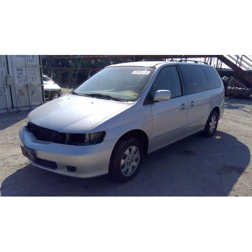 Used 2003 Honda Odyssey Parts Car   Silver With Gray Interior, 6 Cyl,  Automatic Transmission