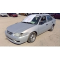 Used 2002 Toyota Corolla Parts Car -Silver with grey interior, 4 cylinder engine, Automatic transmission
