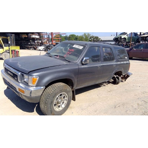 Used 1991 Toyota 4runner Parts Car Silver With Grey Interior 6