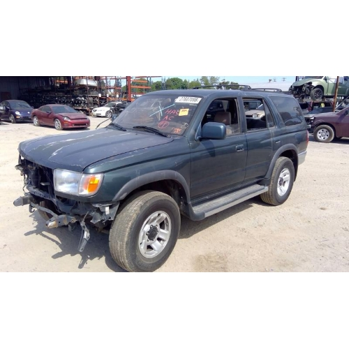 used 1997 toyota 4runner parts car green with tan interior 6 cyl engine automatic transmission fresno tap recycling