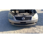 Used 2005 Nissan Altima Parts Car - Gold with brown interior, 4 cyl engine, Automatic transmission